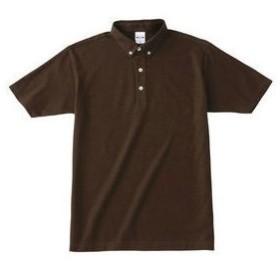 TOMS/トムス  ボタンダウンポロシャツ チョコ19716803