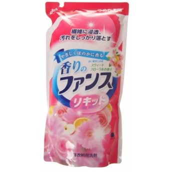香りのファンス 液体衣料用洗剤 スィートフローラル つめかえ用 0.85kg 代引不可