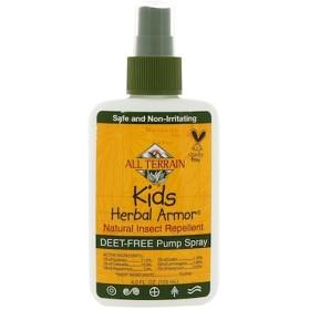 キッズハーバルアーマー(Kids Herbal Armor), 天然昆虫駆除剤, 4液量オンス (120 ml)