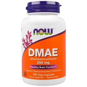 DMAE、250 mg、植物性カプセル 100粒