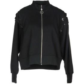 《セール開催中》PINKO レディース スウェットシャツ ブラック XS コットン 65% / ポリエステル 35%