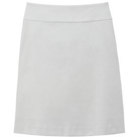 ロペ エターナル/コットンハニカムストレッチ トラピーズスカート/ホワイト/2