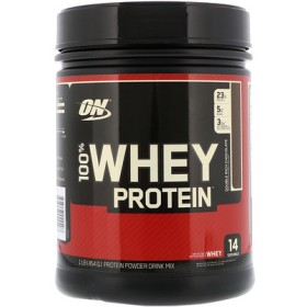 100%ホエイプロテイン、ダブルリッチチョコレート、1 lb (454 g)