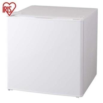冷蔵庫 1ドア ノンフロン冷蔵庫 左開き 一人暮らし 一人暮らし用 新生活 シンプル 小型 コンパクト 42L ホワイト AF42L-WP アイリスオーヤマ