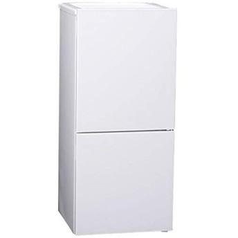 ツインバード工業 TWINBIRD 110L 2ドア冷蔵庫 一人暮らし ホワイト 右開き HR-E911W