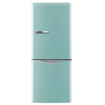 【DAEWOO】レトロ 150L 2ドア冷蔵庫DR-C15AM アクアミント