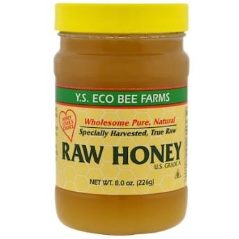 未加工ハチミツ、8.0 oz (226 g)
