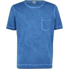 《期間限定セール開催中!》MASSIMO ALBA メンズ T シャツ ブルー XL コットン 100% PANAREA