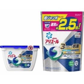 アリエール パワージェルボール3D 本体+つめかえ用超ジャンボサイズ(1セット)[洗濯洗剤 その他]
