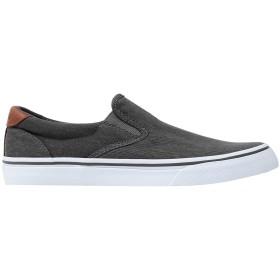 《セール開催中》POLO RALPH LAUREN メンズ スニーカー&テニスシューズ(ローカット) 鉛色 40 紡績繊維 / 革 Thompson Washed Twill Sneaker
