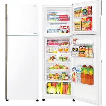 【日立】2ドア冷凍冷蔵庫 RーA230ーW パールホワイト 幅54×奥行き65×高さ158.5cm