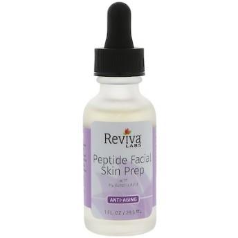 ペプチド・フェイシャルスキンプレップ、ヒアルロン酸配合、アンチエイジング、1液量オンス(29.5 ml)