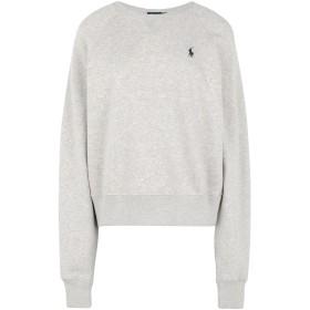 《セール開催中》POLO RALPH LAUREN レディース スウェットシャツ グレー S コットン 84% / ポリエステル 16% Lightweight Fleece Sweatshirt