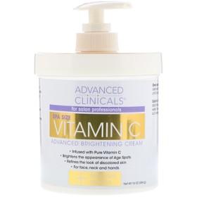 Vitamin C Advanced Brightening Cream, 16 oz (454 g)