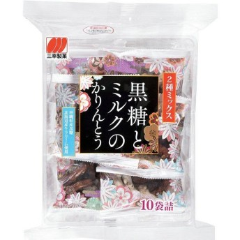三幸製菓 黒糖とミルクのかりんとう 1袋