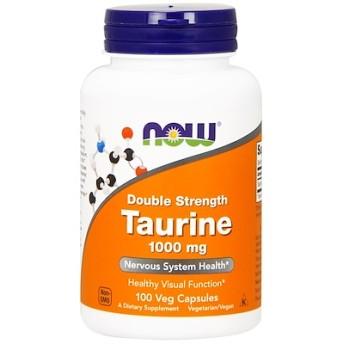 タウリン,ダブルストレングス, 1,000 mg, 100植物性カプセル