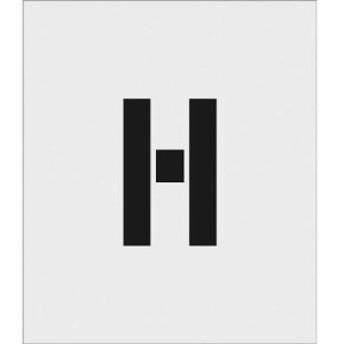 アイマーク ASTH15095 IM ステンシル H 文字サイズ150×95mm