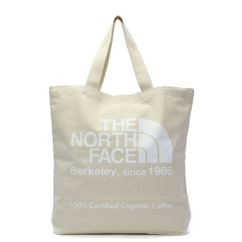ギャレリア ザ・ノースフェイス トートバッグ THE NORTH FACE TNF Organic Cotton Tote B4 20L NM81908 ユニセックス ホワイト F 【GALLERIA】