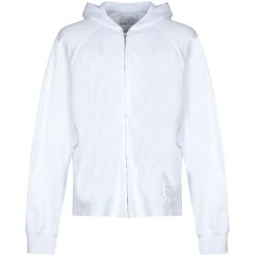 《セール開催中》GALLE Paris メンズ スウェットシャツ ホワイト S コットン 100%