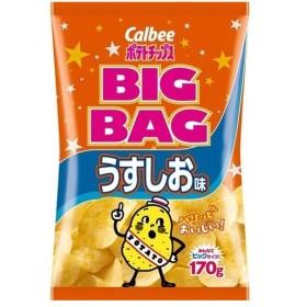 カルビー ポテトチップス ビッグバッグ うすしお味 ( 170g2コセット )/ カルビー ポテトチップス