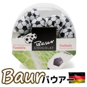 ホワイトデー お返し チョコレート おもしろチョコ サッカーボール フットボール ブランドチョコレート バウアー 個包装 義理 面白い