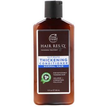 ピュア、ヘアーレスキュー(Hair ResQ)、アルティメットシックニングコンディショナー、ノーマルヘア、12液量オンス(355 ml)