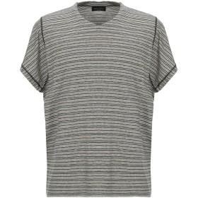 《期間限定セール開催中!》ROBERTO COLLINA メンズ T シャツ キャメル 48 麻 50% / コットン 47% / ポリウレタン 3%