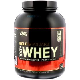 ゴールドスタンダード 100%ホエイ、ダブルリッチチョコレート、5ポンド(2,27 kg)