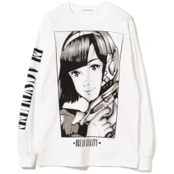 F-LAGSTUF-F / DREAM AND REALITY 2 Long Sleeve Tee メンズ Tシャツ WHITE L
