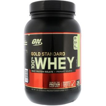 ゴールドスタンダード、100%ホエイ、キーライムパイ、1.81 lb (819 g)