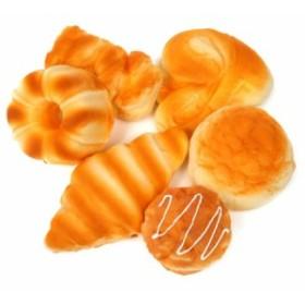 【送料無料!】パン 食品サンプル 6個 セット スクイーズ お店 ディスプレイ インテリア おままごと インスタ 用 背景 部屋 装飾 飾り