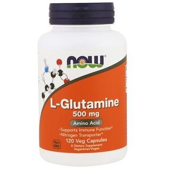 L-グルタミン、500 mg、植物性カプセル 120粒