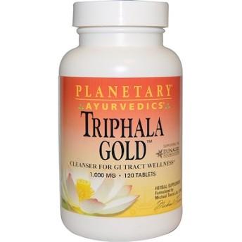アーユルヴェーダ, トリファラゴールド(Triphala Gold), 1,000 mg, 120錠