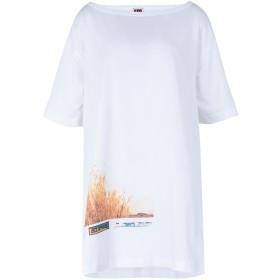 《期間限定セール開催中!》I'M ISOLA MARRAS レディース T シャツ ホワイト S コットン 100% T-SHIRT OVER