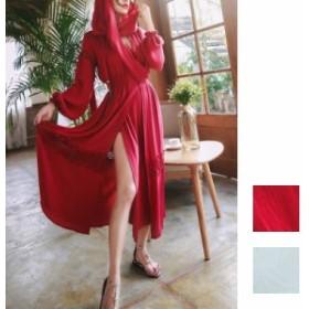 韓国 ファッション レディース ワンピース パーティードレス ロング マキシ 夏 春 パーティー ブライダル 【即納】naloB866 結婚式 お呼