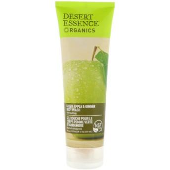 Organics, ボディーウォッシュ, グリーンアップル & ジンジャー, 8 fl oz (237 ml)