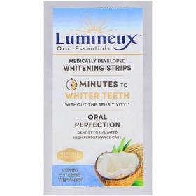 ルミネックス、 歯科医が開発したホワイトニングストリップ、上歯・下歯(各1本)の治療用
