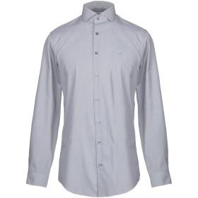 《セール開催中》CALVIN KLEIN メンズ シャツ カーキ 39 コットン 100%