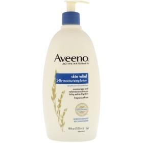Active Naturals, スキン・リリーフ 24時間保湿クリーム, 無香料, 18 fl oz (532 ml)
