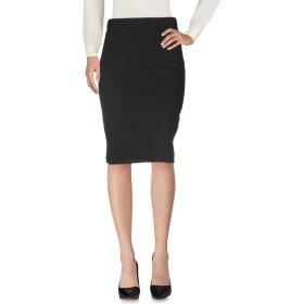 《セール開催中》CRISTINAEFFE レディース 7分丈スカート ブラック 42 77% バージンウール 19% ナイロン 4% ポリウレタン