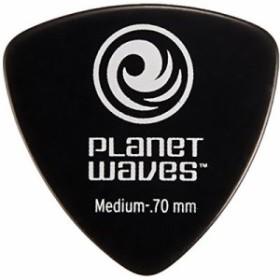 PLANETWAVE  【25個セット】Classic Celluloid Picks-Wide Shape-【Medium 0.7mm】 Black25枚セット(2CBK4-25)