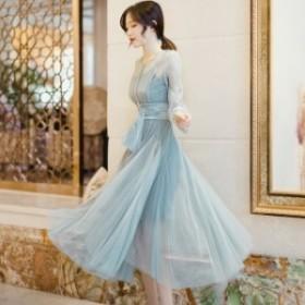 パーティードレス 結婚式 二次会 ワンピース 結婚式 お呼ばれ ドレス 20代 30代 40代 結婚式 お呼ばれドレス シースルー セクシー ドレス