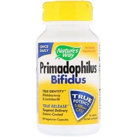 Primadophilus、ビフィズス、成人用、 Vキャップ90錠
