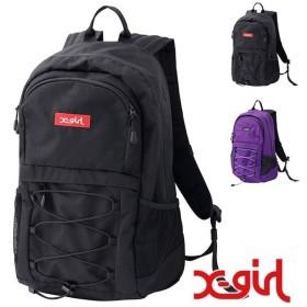 エックスガール X-girl レースアップ バックパック LACEUP BACKPACK メンズ レディース XGIRL リュックサック デイパック かばん バッグ  5184094 SS19