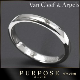 ヴァンクリーフ & アーペル トゥージュール リング 2.5mm #49 Pt950 Van Cleef & Arpels プラチナ