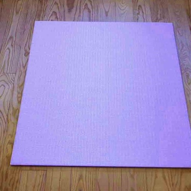 フローリング用 置き畳 和紙製薄ピンク色