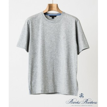 EDIFICE Brooks Brothers KNT SUP CTN GF SS TEE グレーB XL