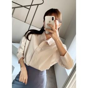 コットンボタンシャツ・全4色・t52108