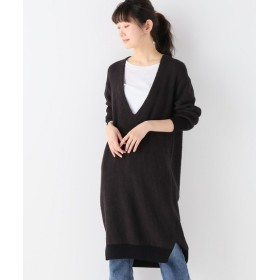 journal standard luxe 【unfil/ アンフィル】 ribbed-knit dress◆ ブラウン 1