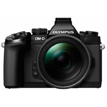OLYMPUS ミラーレス一眼 OM-D M1 12-40mm F2.8 レンズキット ブラック 防塵(中古品)